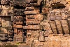 Scuptures del templo de Konark Foto de archivo