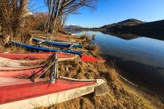 Scuttled sailing boat Stock Photo