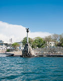 Scuttled Warships Monument in Sevastopol, Crimea Royalty Free Stock Photos