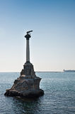 Scuttled Warships Monument in Sevastopol, Crimea Royalty Free Stock Images