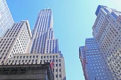 Scyscrapers en Nueva York Imagenes de archivo
