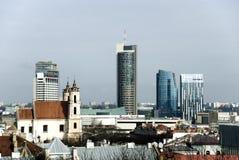 Scyscrapers in Vilnius Stock Images