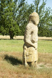 Scythian di pietra antico Immagini Stock