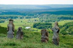Scythian gravestones Stock Image
