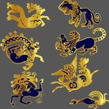 Scythians 皇族释放例证