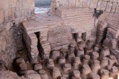 Scythopolis Public Bath stock images