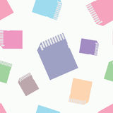SD υπόβαθρο σχεδίων καρτών doodle άνευ ραφής Στοκ εικόνα με δικαίωμα ελεύθερης χρήσης