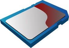 SD Card vector illustration