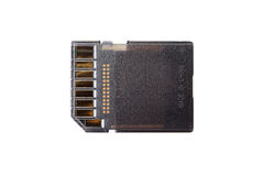 SD-Card Stock Image