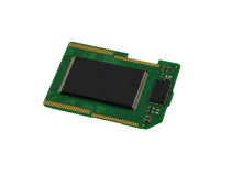 SD card chip Royalty Free Stock Photo