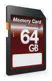 SD card Royalty Free Stock Photography
