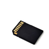 SD card memory Royalty Free Stock Image