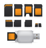 SD Card Royalty Free Stock Image