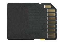 SD-Cartão (lado traseiro) Imagem de Stock Royalty Free