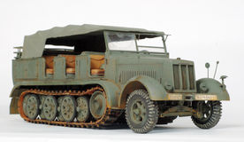 Sd.Kfz.7 Immagine Stock