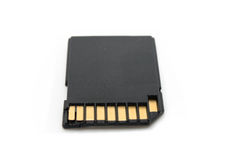 SD Memory Card Royalty Free Stock Photos