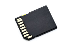 SD Memory Card Royalty Free Stock Photo