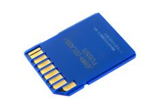 SD memory card Stock Image