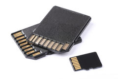 SD Memory Card Royalty Free Stock Photography