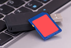 SD Memory Card Technology Royalty Free Stock Images