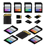 SD Memory Cards Royalty Free Stock Image
