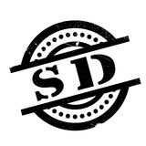 Sd rubber stamp Stock Photography