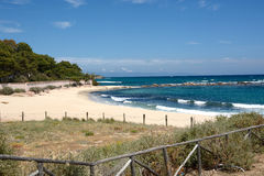 Süd-Sardinien-Strand Lizenzfreies Stockbild