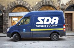 SDA Express Courier Stock Photo