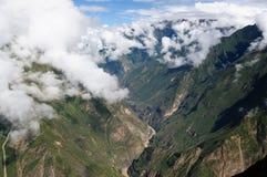 Südamerika - Peru, Inkaruinen von Choquequirao Lizenzfreies Stockfoto