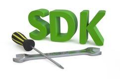 SDK concept Stock Image
