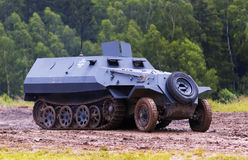 SdKfz 251 halfrack. Historic german ww 2 armoured personnel carrier Stock Photography