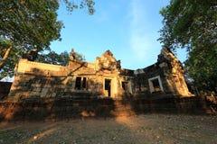 Sdok Kok Thom, Khmer temple Royalty Free Stock Image