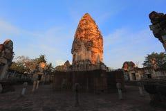 Sdok Kok Thom, Khmer temple Stock Image