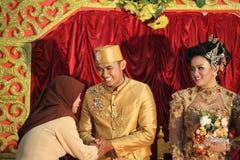 Südostasien-Hochzeit Stockfoto