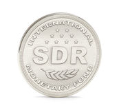 SDR IMF Coin Stock Image
