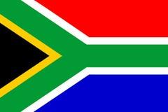 södra africa flagga Arkivbilder