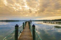 Södra Carolina Lowcountry Arkivfoto