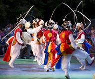 södra dansarekorean Royaltyfria Foton