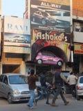 Södra förlängningsmarknad i Delhi Royaltyfria Foton