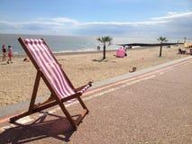 Sdraio della costa del sole di Essex Fotografia Stock