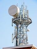 Torre de comunicação Imagens de Stock