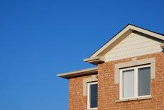 Seção de um townhouse do tijolo Imagens de Stock Royalty Free