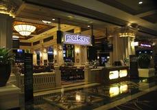 Seção do pôquer do hotel e do casino de Las Vegas Excalibur Fotografia de Stock