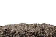 Seção do solo ou da sujeira isolada fotos de stock