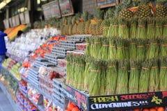 Seção exterior do mercado Foto de Stock Royalty Free