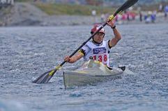 Seção Kayaking imagens de stock royalty free