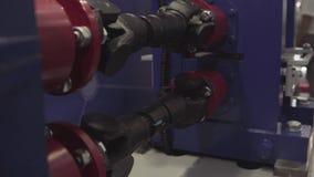 Seção transversal da caixa de engrenagens, indústria do motor, rodas dentadas, rodas denteadas e rolamentos da transmissão automo filme
