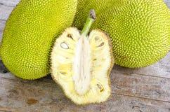 Seção transversal do Jack-fruto gigante Imagem de Stock Royalty Free