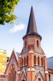 Señal anterior de la iglesia de China del puxi de Shangai Fotografía de archivo
