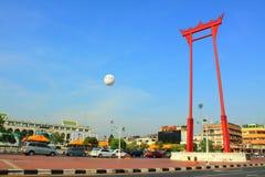 Señal de Bangkok - oscilación gigante Imagenes de archivo